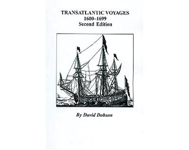 Transatlantic Voyages, 1600-1699 - David Dobson