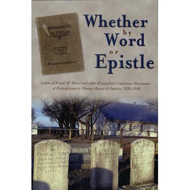 Whether by Word or Epistle - Muddy Creek Farm Library