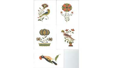 Roma Ruth Cards, Designs 6-10 - Roma Ruth
