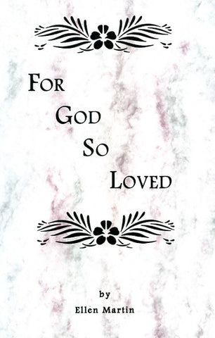 For God So Loved - Ellen Zimmerman