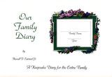 Our Family Diary: A Keepsake Diary for the Entire Family - Russell D. Earnest, Jr.