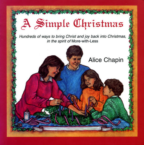A Simple Christmas - Alice Chapin