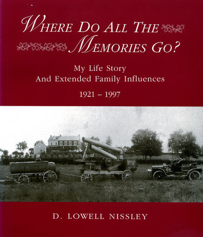 Where Do All the Memories Go? My Life Story and Extended Family Influences, 1921-1997