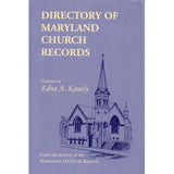 Directory of Maryland Church Records - Edna A. Kanely