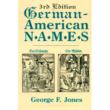 German-American Names - George F. Jones