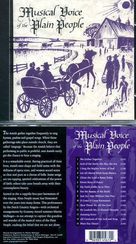 Musical Voice of the Plain People CD - Masthof Bookstore