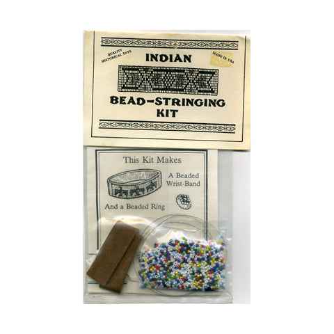 Indian Bead-Stringing Kit - Historical Toys