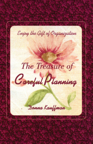 The Treasure of Careful Planning - Donna Kauffman