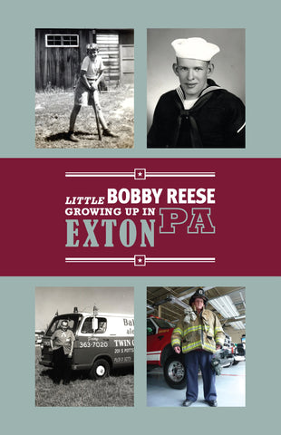 Little Bobby Reese Growing Up in Exton, PA - Robert Reese