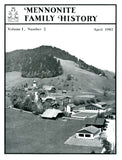Mennonite Family History April 1982 - Masthof Press