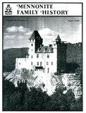 Mennonite Family History April 1984 - Masthof Press