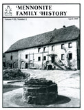 Mennonite Family History April 1989 - Masthof Press
