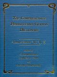 The Comprehensive Pennsylvania German Dictionary, Vol. Eleven: W, Y, Z