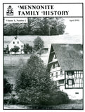 Mennonite Family History April 1991 - Masthof Press