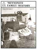 Mennonite Family History April 1994 - Masthof Press