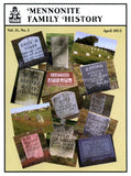 Mennonite Family History April 2012 - Masthof Press