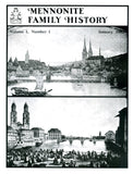 Mennonite Family History January 1982 - Masthof Press