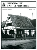 Mennonite Family History January 1992 - Masthof Press