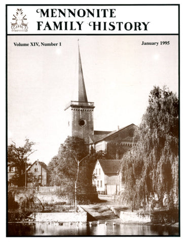 Mennonite Family History January 1995 - Masthof Press