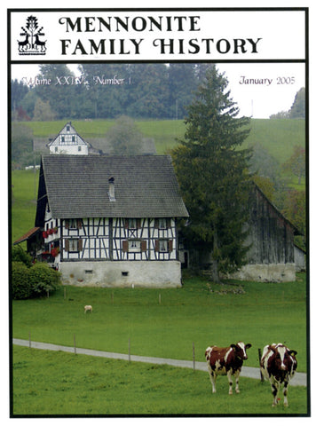 Mennonite Family History January 2005 - Masthof Press