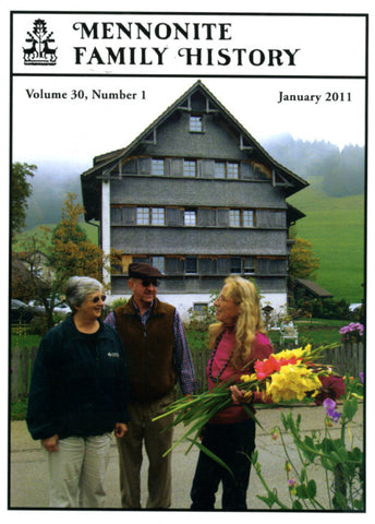 Mennonite Family History January 2011 - Masthof Press
