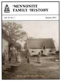 Mennonite Family History January 2015 - Masthof Press