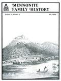 Mennonite Family History July 1986 - Masthof Press