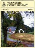 Mennonite Family History July 2012 - Masthof Press