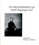 The Descendants of Joseph Augspurger (1st), Vol. IV
