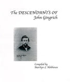 The Descendants of John Gingrich