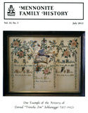 Mennonite Family History July 2013 - Masthof Press