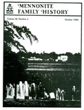 Mennonite Family History October 1984 - Masthof Press