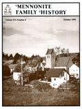 Mennonite Family History October 1996 - Masthof Press