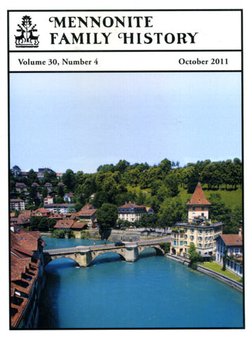 Mennonite Family History October 2011 - Masthof Press
