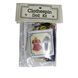 Clothespin Doll Kit - Historical Toys