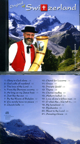 Original of Switzerland CD - Lorenz Schwarz