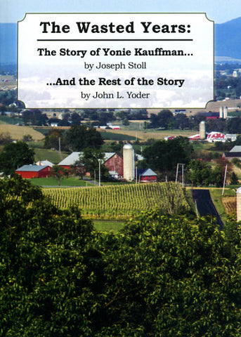 The Wasted Years: The Story of Yonie Kauffman . . . and the Rest of the Story - Joseph Stoll and John L. Yoder