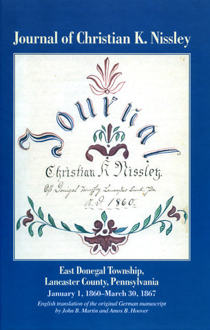 Journal of Christian K. Nissley - Gerald Kraybill
