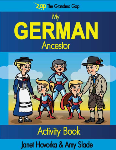 My German Ancestor Activity Book