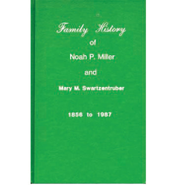 Family History of Noah P. Miller and Mary M. Swartzentruber - Jacob M. Miller