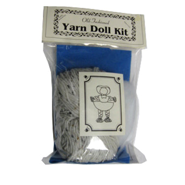 Old-Fashioned Yarn Doll Kit - Historical Toys
