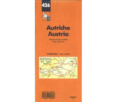 Austria Map - Masthof Bookstore