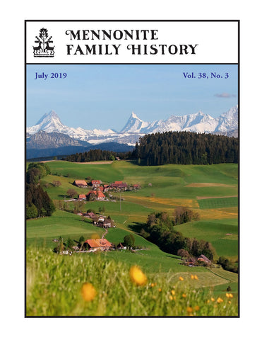 Mennonite Family History July 2019