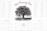 Six-Generation Genealogy Chart