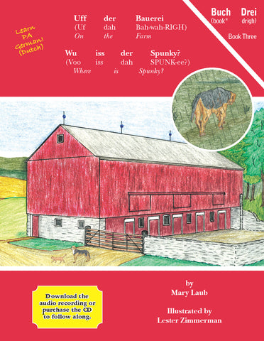Uff der Bauerei: Wu iss der Spunky? (On the Farm: Where Is Spunky?), BOOK 3