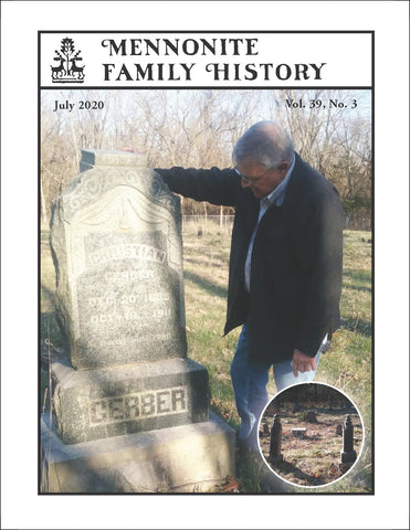 Mennonite Family History July 2020