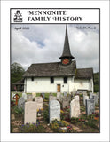 Mennonite Family History April 2020