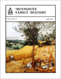 Mennonite Family History July 2015