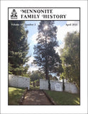Mennonite Family History April 2021