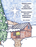Pennsylvania Dutch Christmas Coloring Book - Gerry Kershner - 1